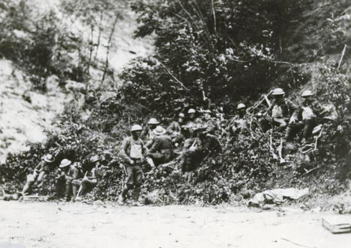 1st Div Troops Just Before the Assault on Berzy