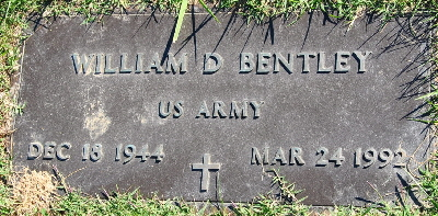 bentley william headstone