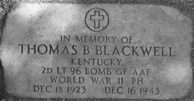 blackwell thomas headstone in memory of 2