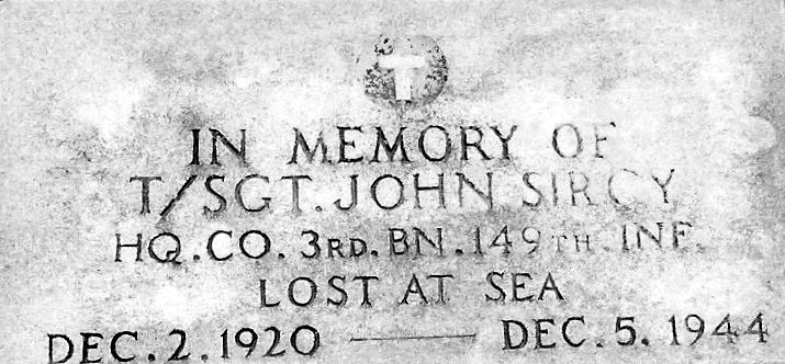 sircy headstone